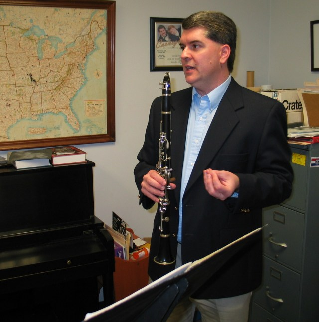 "Dr. Michael Dean Clarinet Performing, Teaching and Consulting ""Building Great Clarinetists"""