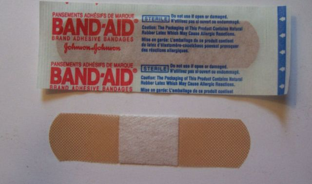 Take Band-Aids on every trip.
