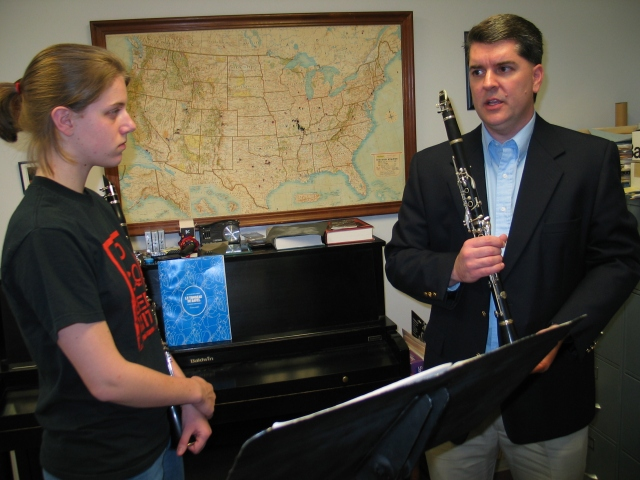 ClarinetMike Teaching