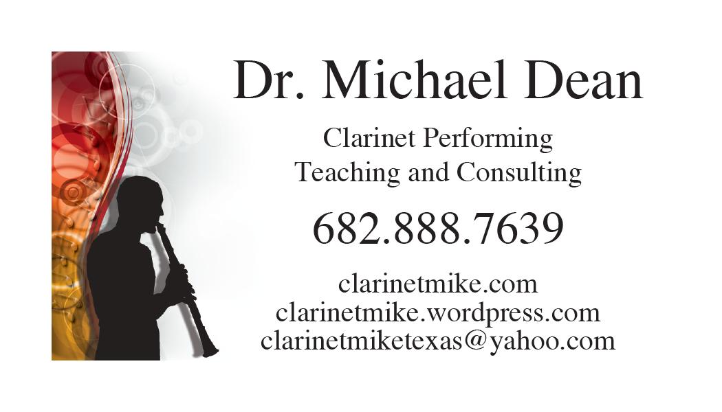 all state clarinet preparation help