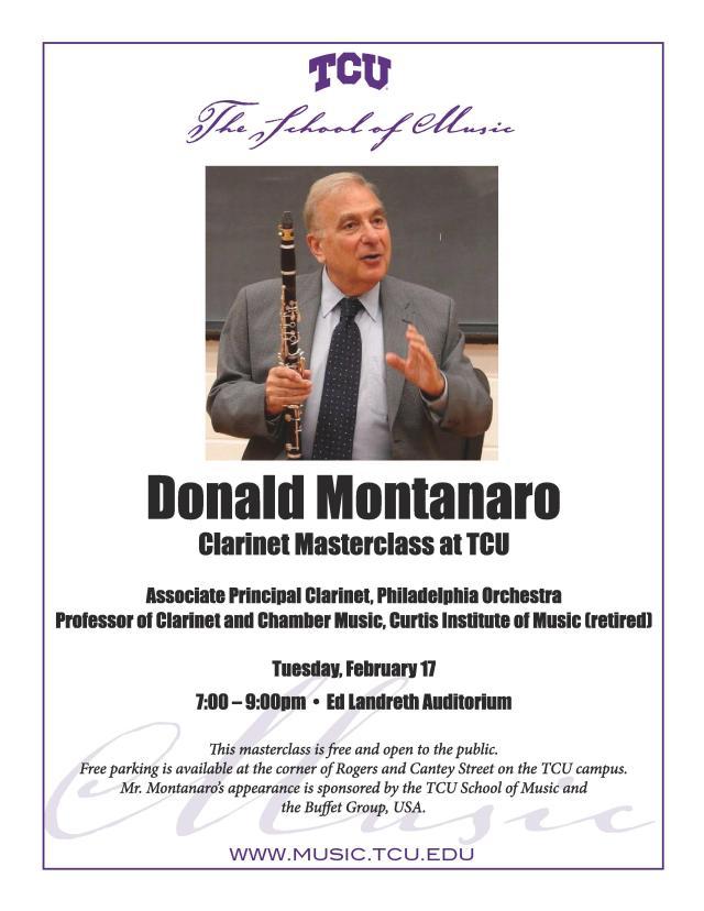 TCU Masterclass Donald Montanaro