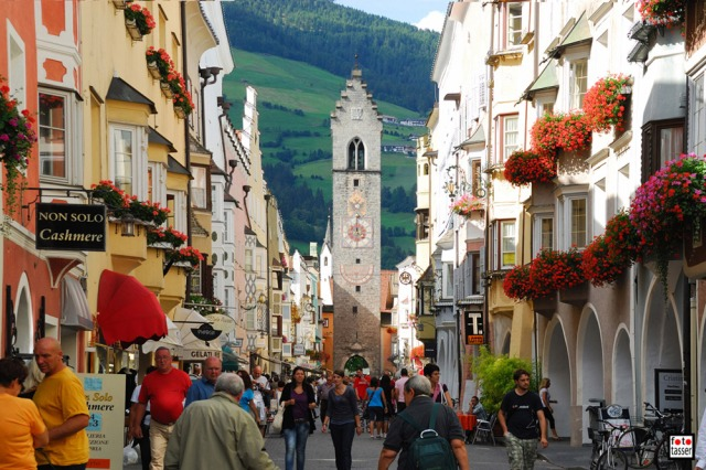 The Orfeo Music Festival is in the town of Vipiteno, Italy in the Italian Alps.