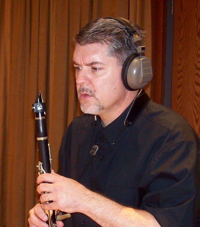 ClarinetMike Recording a CD!