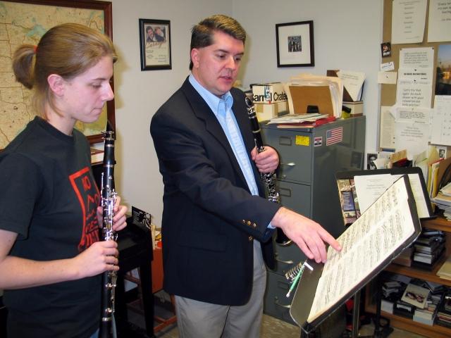 ClarinetMike Teaching a Lesson