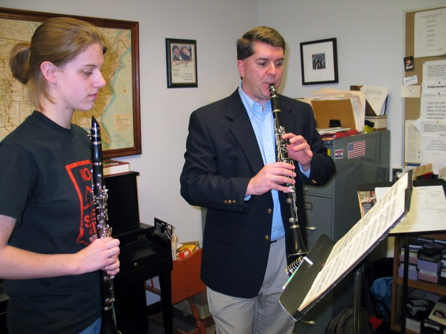 """ClarinetMike says, """"Practice doesn't make permanent, practice makes HABIT!"""""""